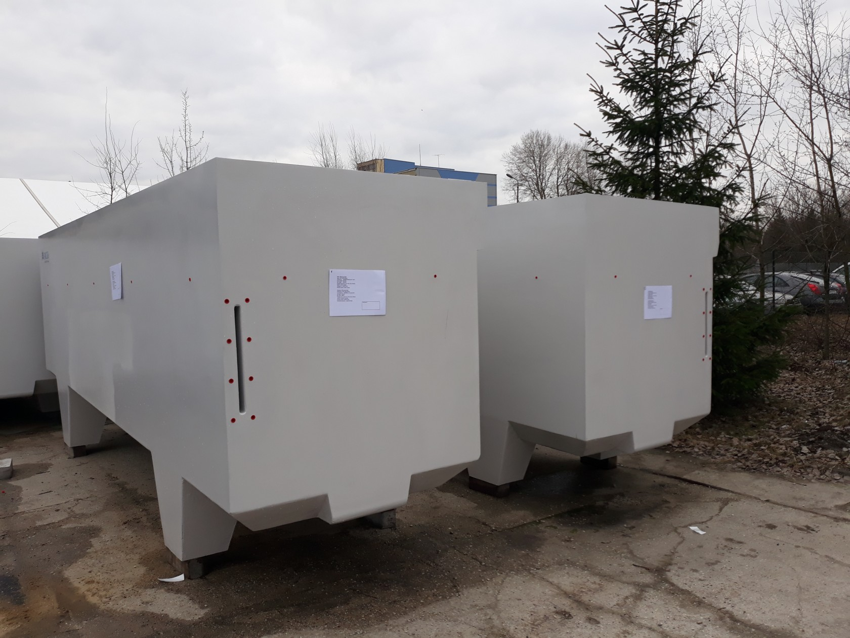 Large polymer concrete tanks - everything you need to know
