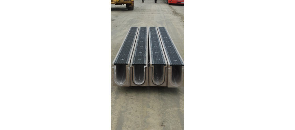Production of the longest solid drainage channels