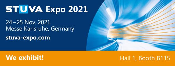 Sytec po raz kolejny bierze udział w największych targach budownictwa tunelowego w Europie: Stuva Expo 2021
