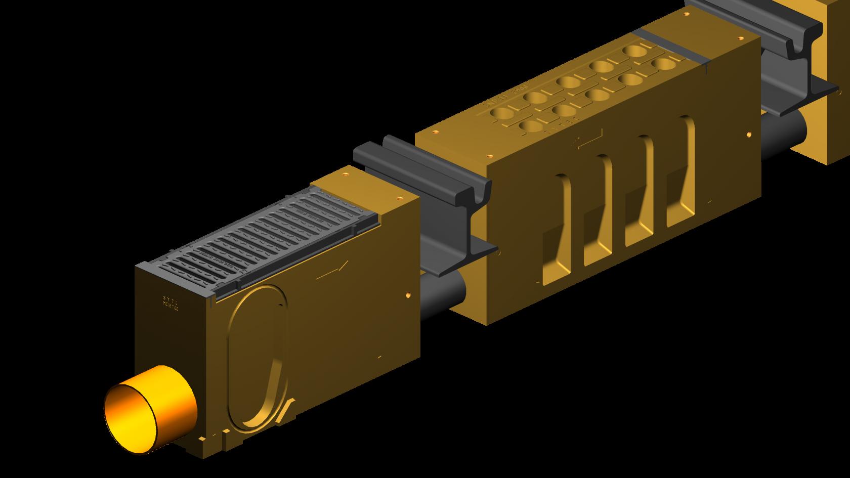 ZT.ME15 - o szerokości wewnętrznej 150mm